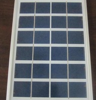 High quality 5W polycrystalline solar panel 9V/550MA for 9V battery and phone charge