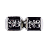 Free Shipping! One Pair SO/NS SET Stainless Steel Ring MER205
