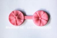 Wholsesale-free shipping 1pcs Mini 3.2cm 5-Petaled Flower Silicone Handmade Fondant Mold Crafts DIY Mold