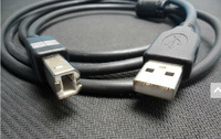 Free shipping, 1.5m 5ft USB 2.0 CABLE A to B PRINTER PC for HP LEXMARK