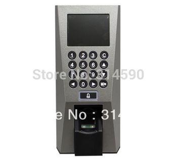 "Free Shipping!! F18 2.4"" TFT RFID Fingerprint Time Attendance Clock+Access Control"