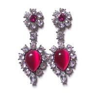 Earring Crystal   Newst Fashion Style Luxury  Dangle Earring  Metal  Earring for Women Free Shipping . OY13031311