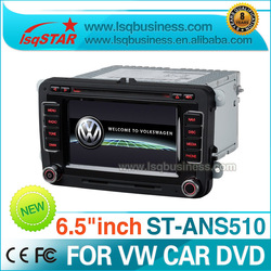 "Free Shipping+Free map 6.5""Car radio for VW Golf 6,Scirocco,Passat,Jetta,Tiguan,Touran,T5,EOS,Saet with GPS Canbus IPAS OPS(China (Mainland))"