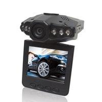IR Car Vehicle Dash Cam Camera Rotable 270 Monitor