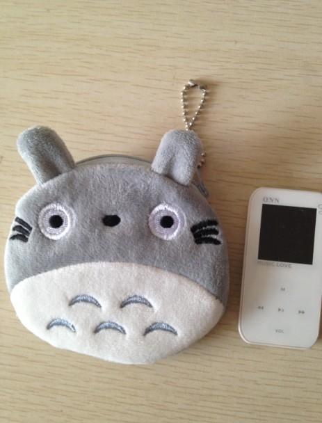 6PCS KAWAII NEW TOTORO CAT Coin Purse Wallet BAG Case Pouch ; Mini BAG Pendant Coin Purse Case Holder BAG Mini Handbag Pouch(China (Mainland))