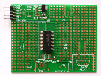 PIC18F258-I/SO microcontroller development board / Universal board microchip 28PIN