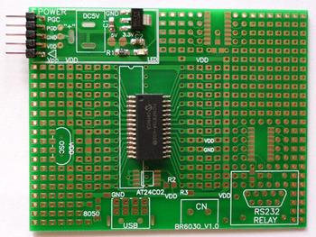 Microchip the PIC16F873A microcontroller development board test board, the new design factory direct