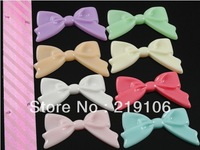 Free shipping 48PCS Large Resin Hair Bow Flatback Button Craft Hot U Pick