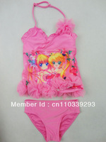 girl cute cartoon swimsuit beach clothing set kids swimwear
