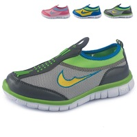 Breathable sports child parent-child shoes running shoes casual shoes lazy pedal children shoes 31 - 37