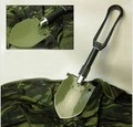 Free shipping,Outdoor tools supplies multifunction camping shovel  portable folding shovel,military