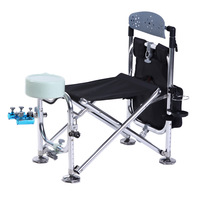 Second generation of the back automatic double fishing chair beightening fishing chair fishing chair fishing box stool