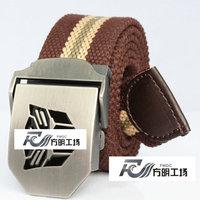 Male canvas strap casual red belt gift belt lengthen denim accessories
