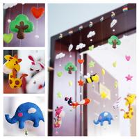 Material kit xitui curtain door hanging handmade diy home free shipping