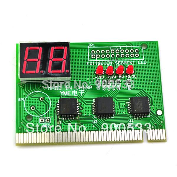 New PC PCI/ISA MB Diagnostic Card Analyzer Tester POST/ [WMJ](China (Mainland))