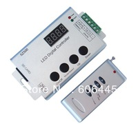 SD Card Programmable 2048 Pixels WS2811 WS2801 LDP6803 LDP8806 RF Remote SPI Digital LED Pixel Controller