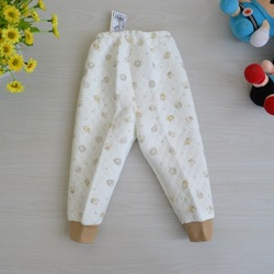 L2993 l2994 dual thermal pants autumn and winter child warm pants single sandwich(China (Mainland))