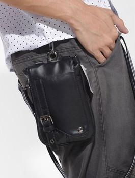 designer Punk waist bags waist pack messenger bag casual man bag small