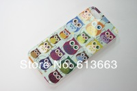 Wholesale 100PCS/LOT OWL Hard Back Case Skin Cover for iPhone 5 5G Case Free Shipping