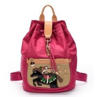 Women's handbag school bag nylon women's handbag backpack female preppy style backpack