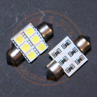 Mg mg6 5050 smd led rear lights trunk lamp car refires
