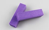 Free Shipping  Purple Buffer Block Acrylic Nail Art Care Tips Sanding Files Tool 100 pcs 4 Ways Shine High Quality Wholesale 468