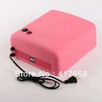 1pcs Red 110V 36W US Plug Gel UV Curing Professional Ultraviolet Lamp Light nail Dryer Nail Art  Hot Selling