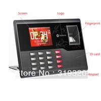 Hot sale fingerprint and FRID card time attendance color screen