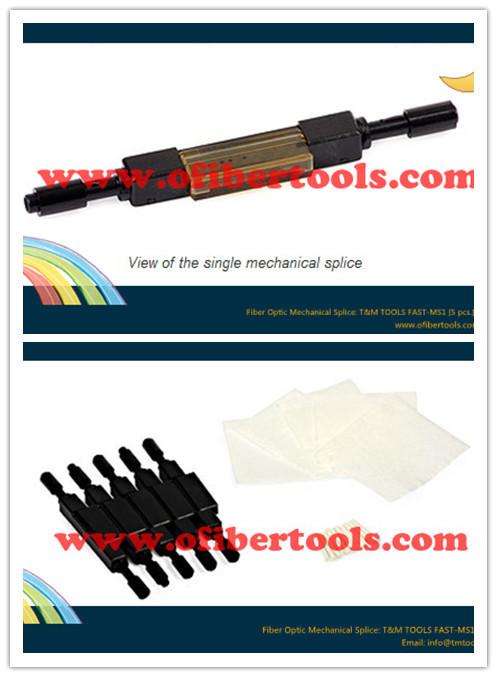 Fiber Optic Mechanical Splice: T&M TOOLS FAST-MS1 [5 pcs.](China (Mainland))