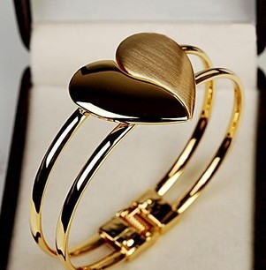 fashion exquisite personality heart bracelet jewelry for women S5385