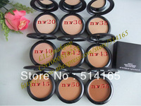 NEW Studio fix powder plus foundation +powder puffs 15g(50 pcs/lots)50pcs NW  20 30 35 40 42 43 45 50 55