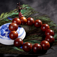 Lucky natural rosewood bracelet 18mm13 Men bracelets