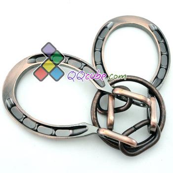 Table metal unlatching intelligence toys horseshoe buckle
