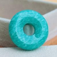 Color amazonstone stone top aaa amazonstone peace buckle pendant 303