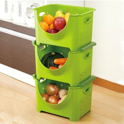 home box Fruit and vegetable storage basket multifunctional bathroom miscellaneously finishing frame(China (Mainland))