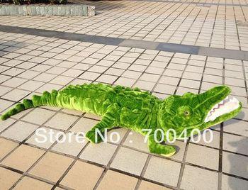 "6 FEET STUFFED Big Alligator GIANT JUMBO 70"" free shipping 1pcs Where is my water plush toy swampy crocodile toy alligator"