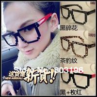 10Pcs/Lot Free Shipping Fashion Women High Quality Square Shape  Eyewear Frame Fashion Glasses Frame