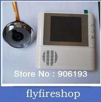 "Free shipping 2.8"" LCD Monitor Digital Door Peephole Viewer 3x Zoom Camera Photo Cam Doorbell FREE SHIPPING"