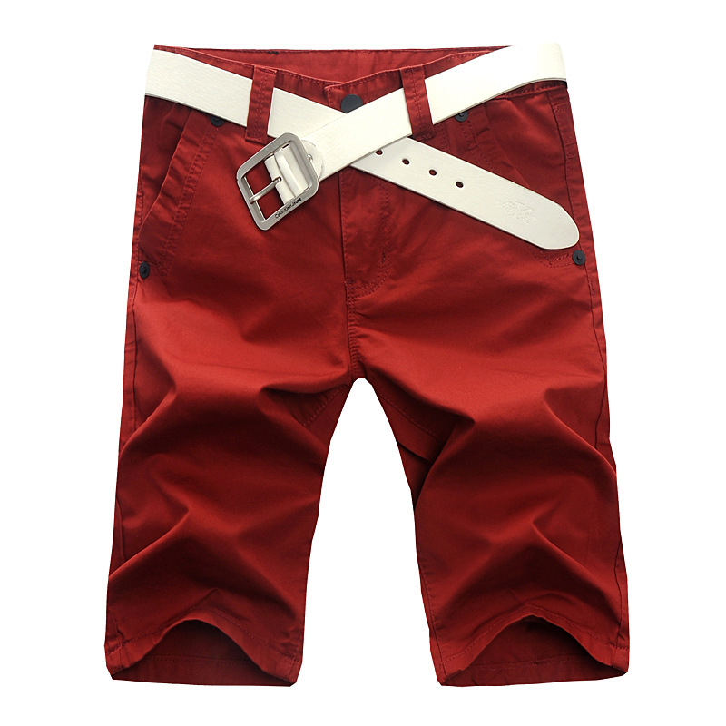 Free Shipping New Pants Red Lawn Green Hot-selling 2013 Men's Summer Clothing Capris Sexy Wholesale Sales $2 337#(China (Mainland))