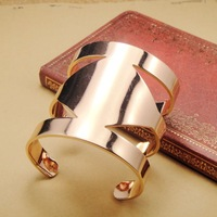 Fashion small accessories thickening of gold personality punk bracelet female jewelry
