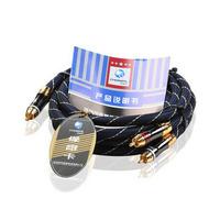 Akihabara ab-5409 double lotus line rca lotus head high quality audio cable 1.5 meters