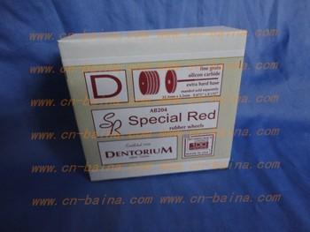 Dental jewellery Dentorium polishing wheel silicon carbide fine gain special res rubber wheel
