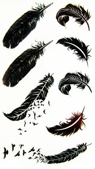 Vogel tatoeages promotie winkel voor promoties vogel tatoeages op - Deco slaapkamer ontwerp volwassen ...