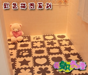 Free shipping Eco-friendly eva middlebury crawling baby puzzle foam mats meters 30*30*1cm