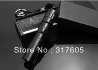 Free shipping wholesale cheap prices led flashlight,fashion mini style,black