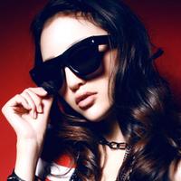 Inmix fashion vintage big box sunglasses male female sunglasses star style large sunglasses sun glasses