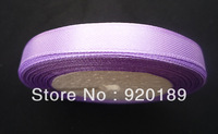 6MM WIDE 25 YARD SHEER SATIN RIBBON Purple