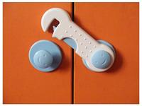 Free shipping Child safety lock drawer lock cabinet lock smiley lock multifunctional