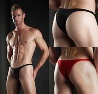free shipping! Joe snyder u bag silky sexy male thong panties 5pcs/lot