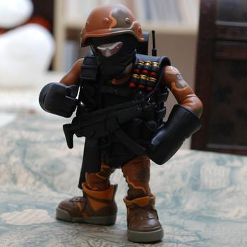 Po black dolls hand-done model